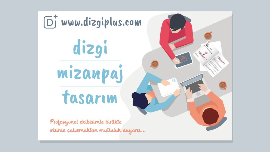 dizgi mizanpaj tasarım, dizgiplus.com